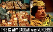 EL ORO LIBIO DETRÁS DE LA INVASIÓN A LIBIA