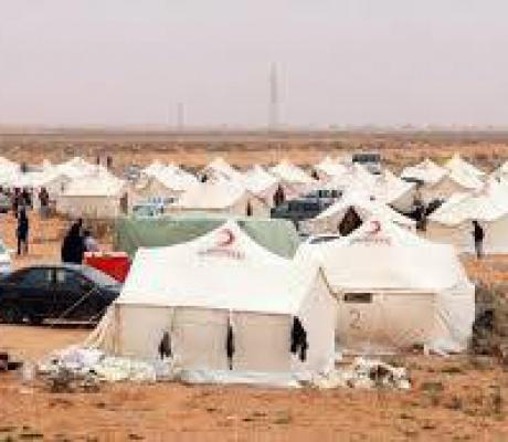AYUDA A LOS LIBIOS DESTERRADOS DE TAWERGA